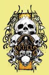 skulls by FosterCreativity101