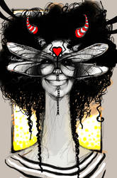 Dragonfly Love-pop by FosterCreativity101