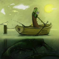 Champ of Lake Champlain by FosterCreativity101