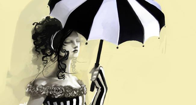 Rain Barrel Umbrella Concept (WIP) by FosterCreativity101