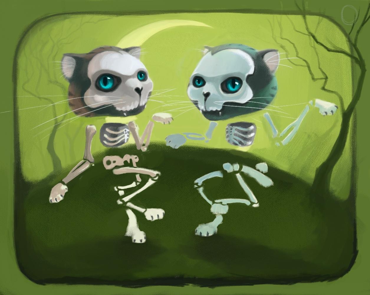 Bone-Cat Jig (WIP) by FosterCreativity101