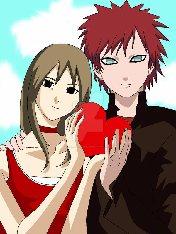 Gaara and Matsuri favourites by xNarutoxHinatax on DeviantArt Gaara And Matsuri Kiss