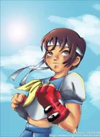 Sakura - Street Fighter by fayechan