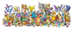 Pokemon by Nazzirithe