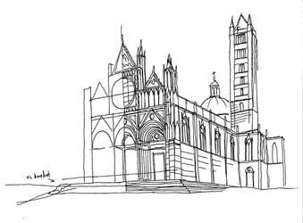 Cathedral in Siena - Duomo di Siena by PadraicBenedictus