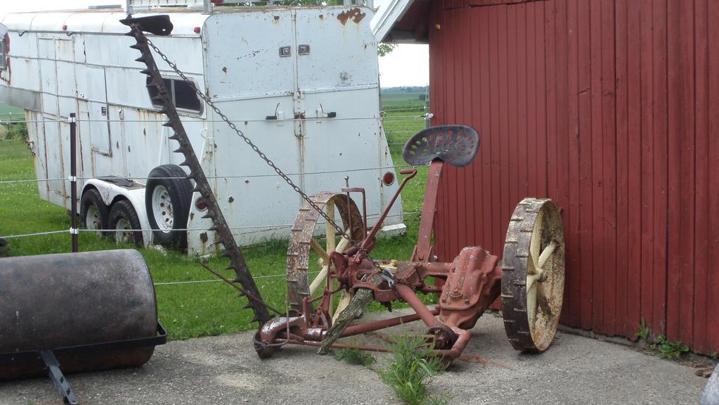 Old Sickle Bar Mower