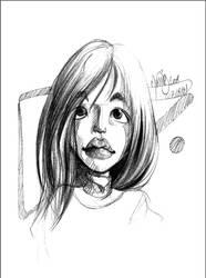 Beautiful face 14 by Mathias-Art