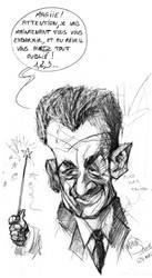 Nicolas Sarkozy by Mathias-Art