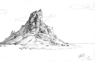 Landscape 2: island