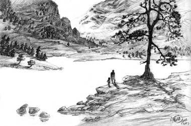 Landscape 3: the lake