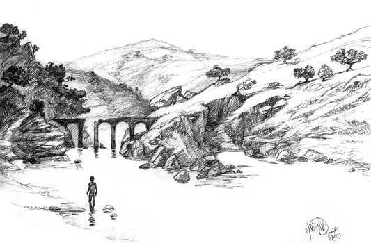 Landscape 4: the old bridge