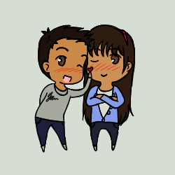 Me and My Friend by Yuki-Riko