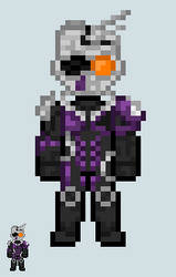 Chibi Rider sprite - Mashin Chaser
