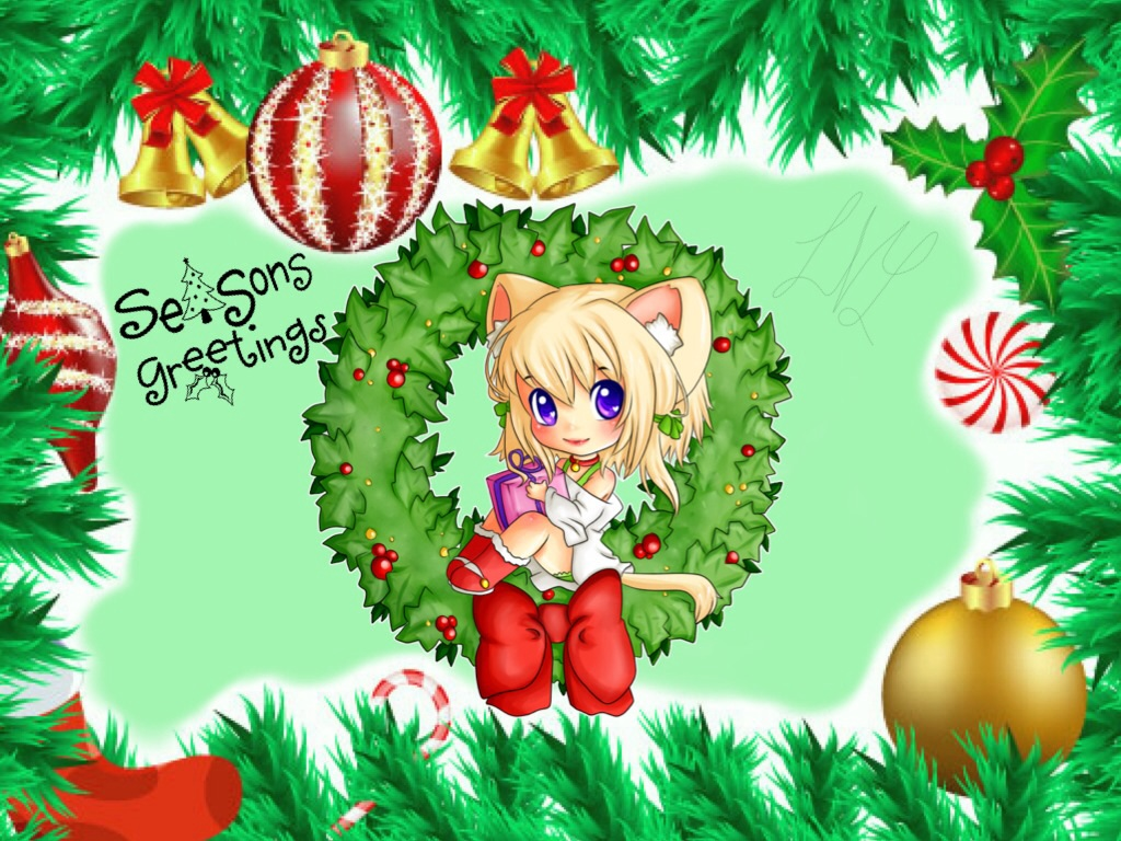 Anime christmas greeting cards 3 121114 by victoriaslaughter95 anime christmas greeting cards 15 121114 by victoriaslaughter95 m4hsunfo Images