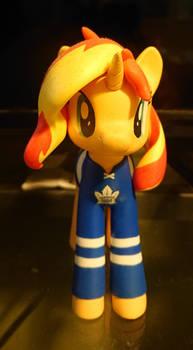 Sunset Shimmer Toronto Maple Leafs fan