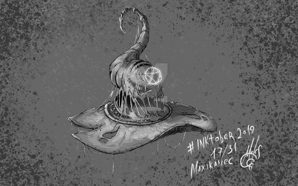 Inktober 2019 - Witch's hat (17/31)