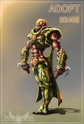 Adopt auction (OPEN) - Cyborg 2