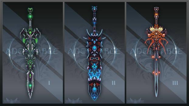 Adopt auction (OPEN 1/3) - Sword Set #1