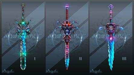 Adopt auction (OPEN 1/3) - Sword Set #2
