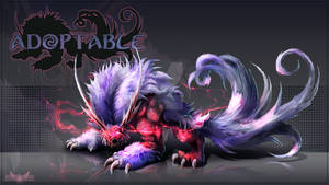 Adopt auction (CLOSED) - Red Beast