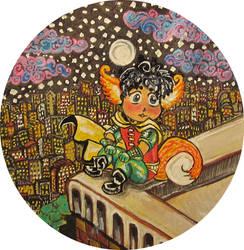 Little Foxy Tim Drake by HELENDRAGON