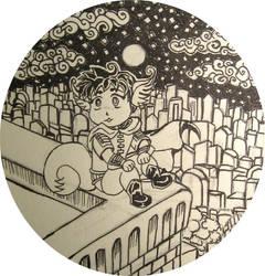 Foxy Tim Drake 1 circle cut by HELENDRAGON