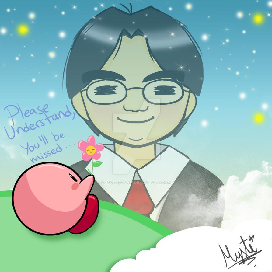 Tribute for Satoru Iwata by MysticalRei