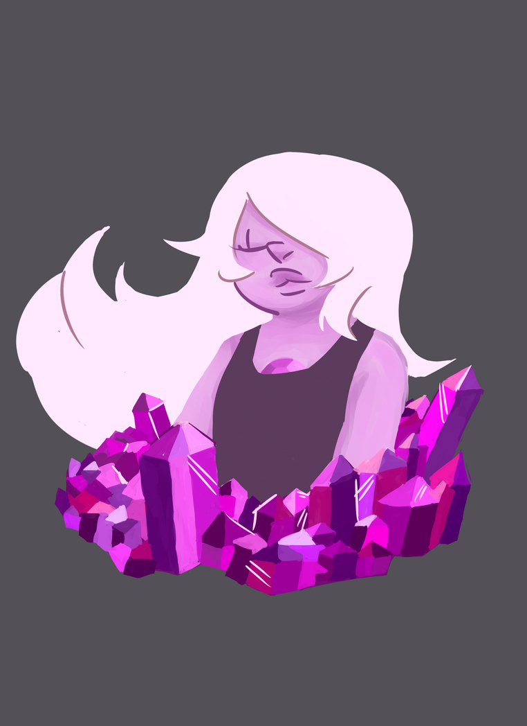Part 3 of my gems with gems pieces. Next up will the mighty Garnet!