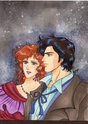 City Hunter : Ryo and Kaori by ladyorpheus