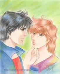 City Hunter : Ryo et Kaori by ladyorpheus