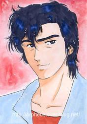City Hunter : Ryo saeba by ladyorpheus