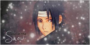 Sasuke - Blood in the Snow by loshek