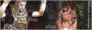 Call of Duty - Soap and Ghost by loshek