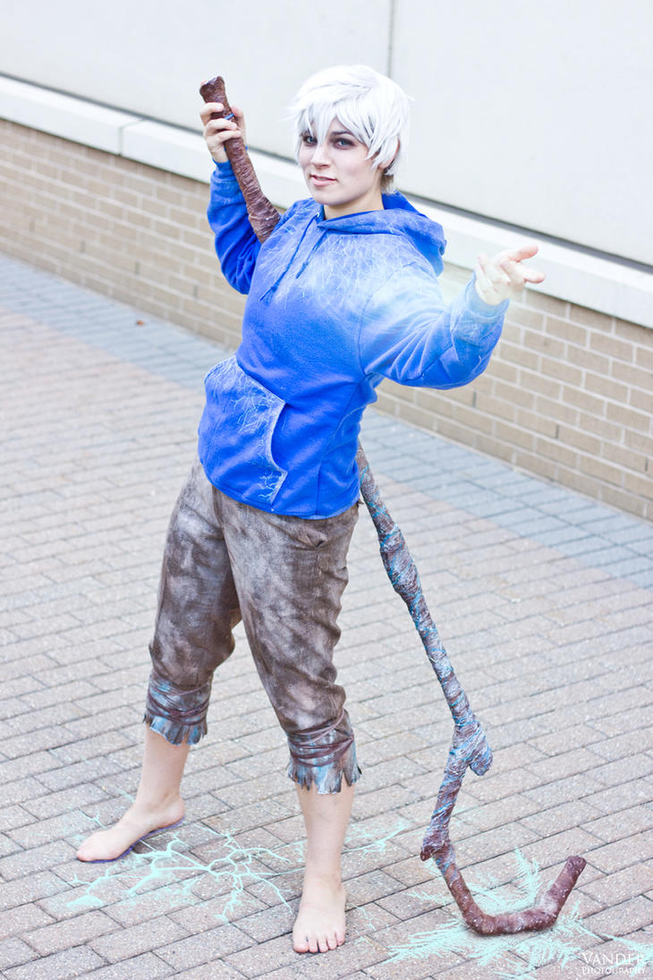 Jack Frost Cosplay - RotG Dreamworks 07 by VanderPhotography