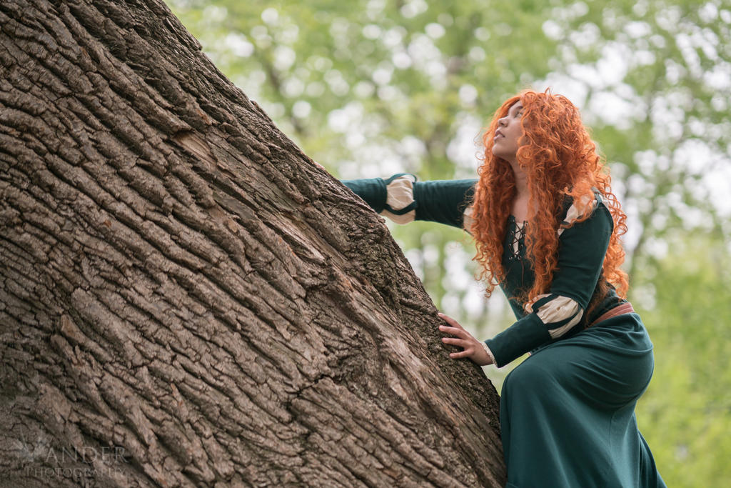 Unknown Cosplayer - Merida from Brave by VanderPhotography