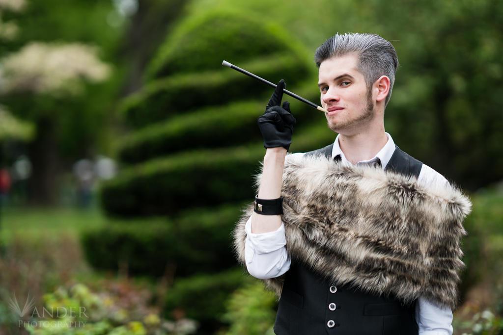 Unknown Cosplayer -  Genderbend Cruella De Vill by VanderPhotography