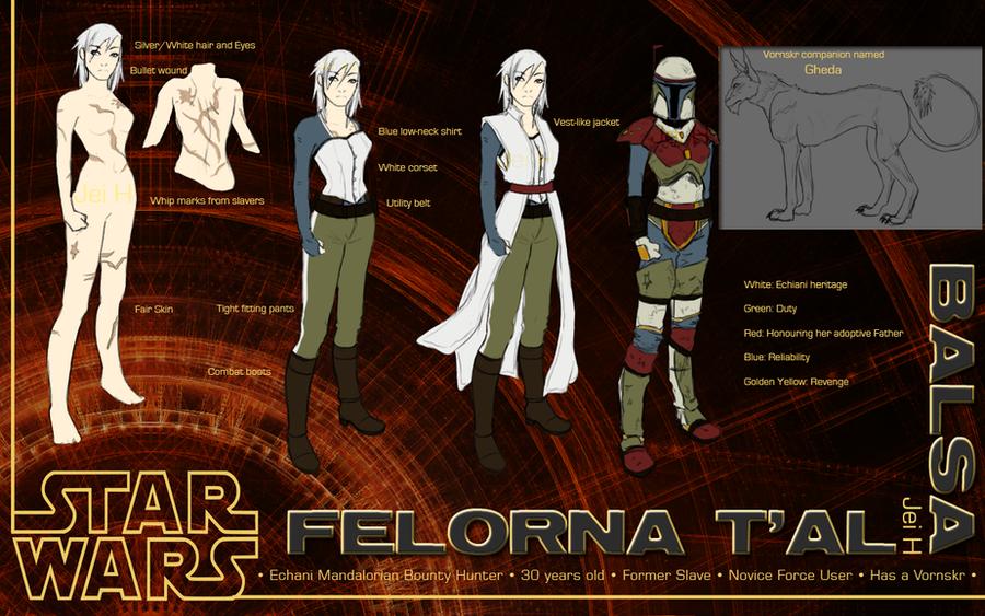 Star Wars: Felorna T'al by WithoutName