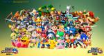 Super Smash Bros 4 Dream Roster Wallpaper