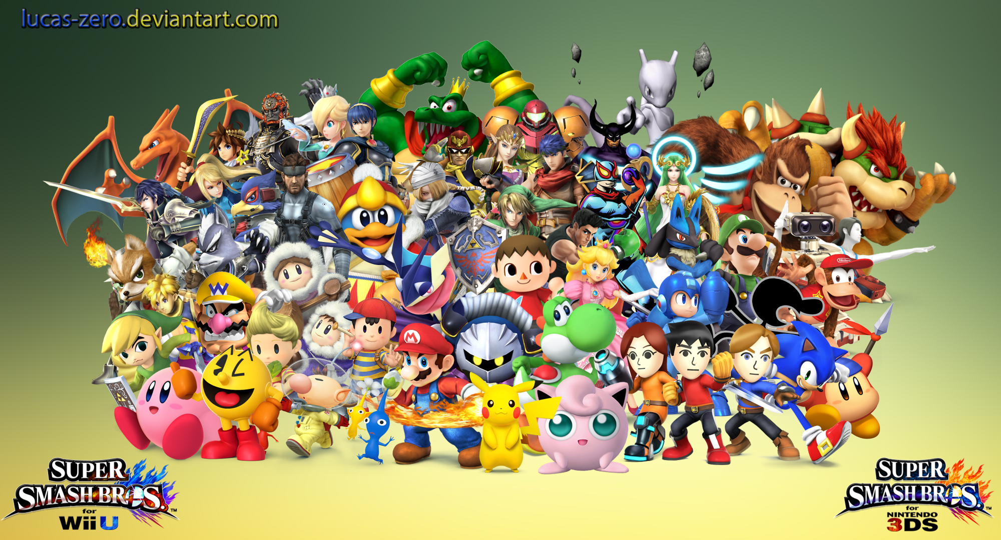 Mewkwota Super Smash Bros 4: Super Smash Bros 4 Dream Roster Wallpaper By Lucas-Zero On