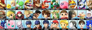 Super Smash Bros 4 4chan Leak Roster Prediction