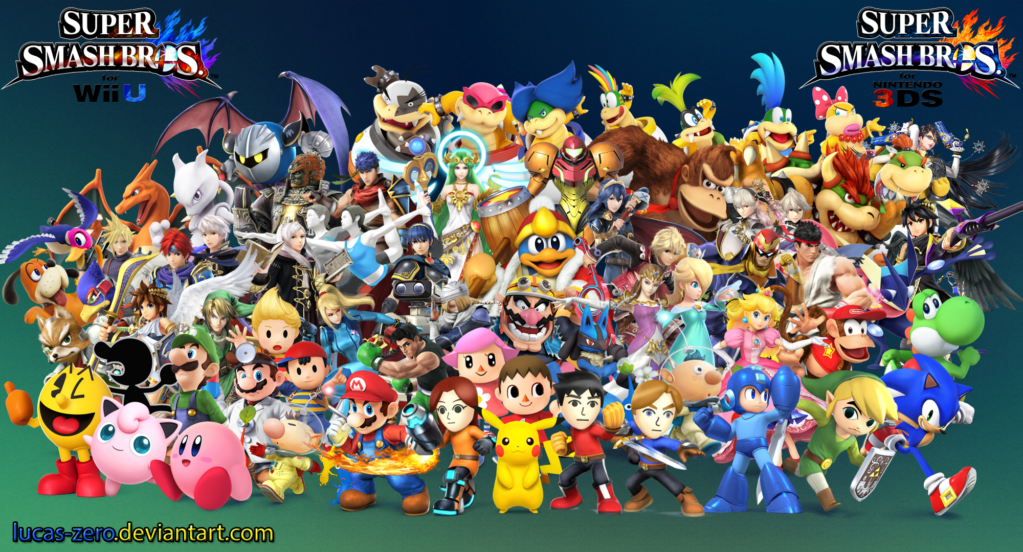 Super Smash Bros 4 Wallpaper By Lucas Zero On Deviantart