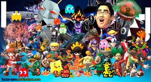 Super Smash Bros 4 Assist Trophies Wallpaper by Lucas-Zero