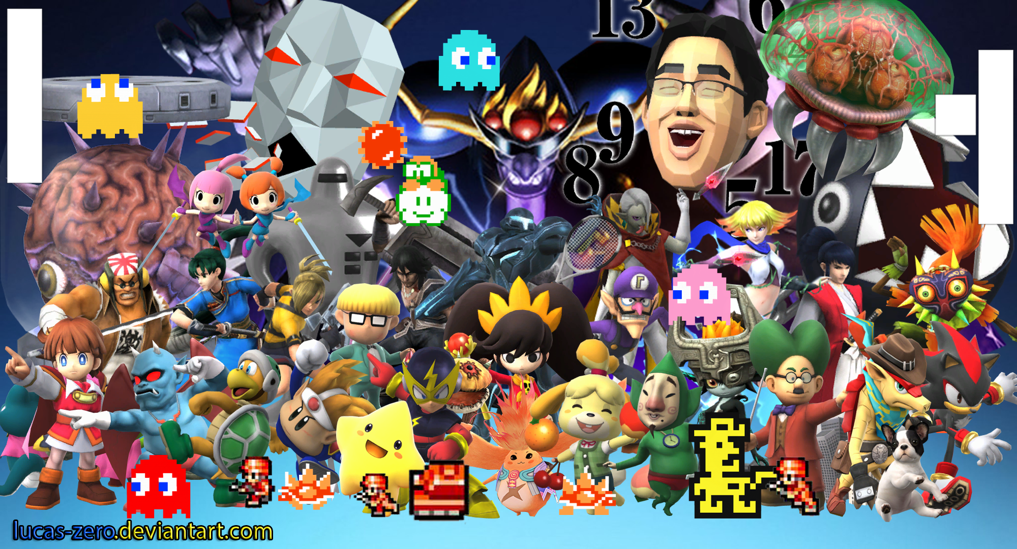 Super Smash Bros 4 Assist Trophies Wallpaper By Lucas Zero On