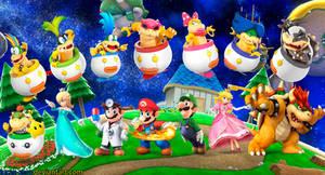 Super Smash Bros 4 Super Mario Bros. Wallpaper