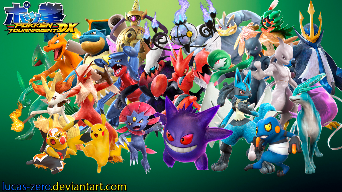 Pokken Tournament Wallpaper by Lucas-Zero