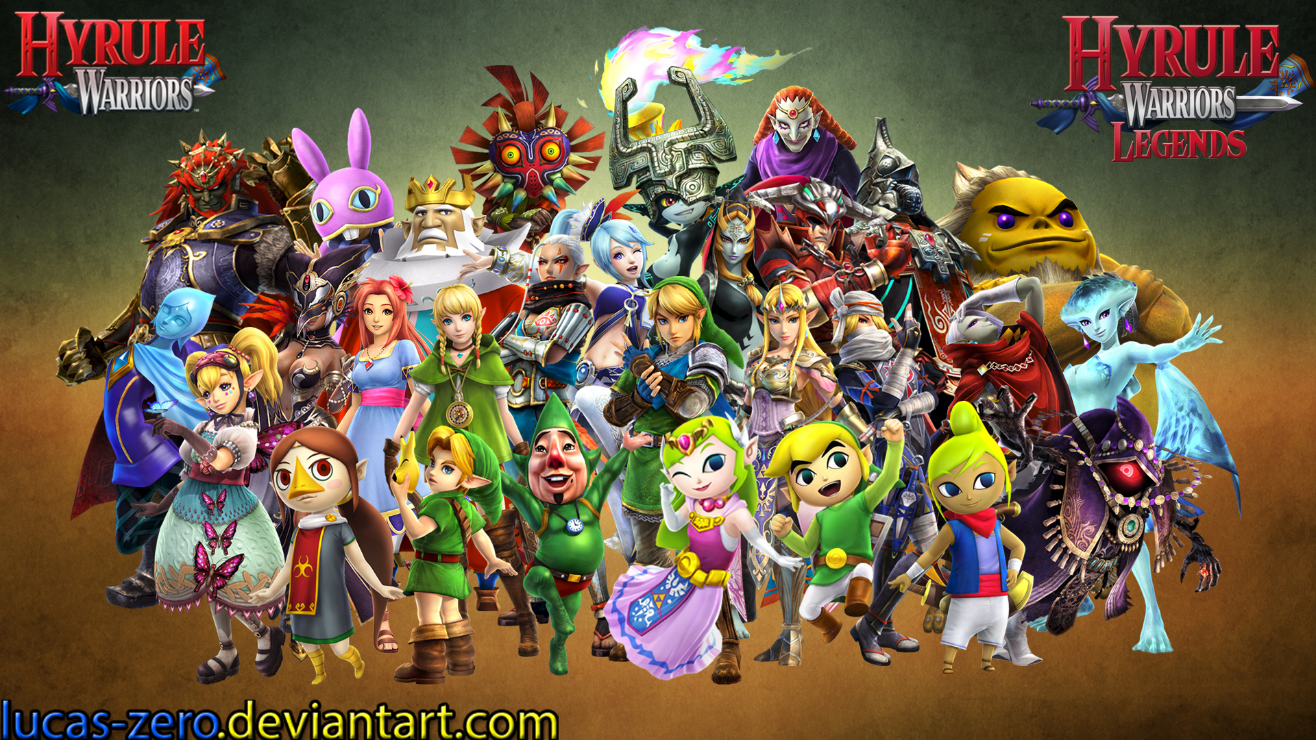 Hyrule Warriors Wallpaper By Lucas Zero On Deviantart