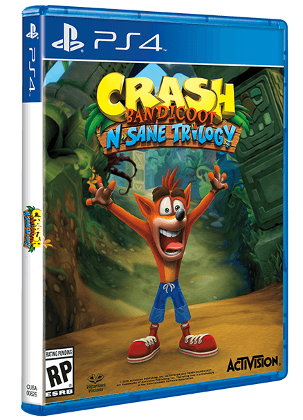 Crash Bandicoot N  Sane Trilogy Boxart by Lucas-Zero on DeviantArt
