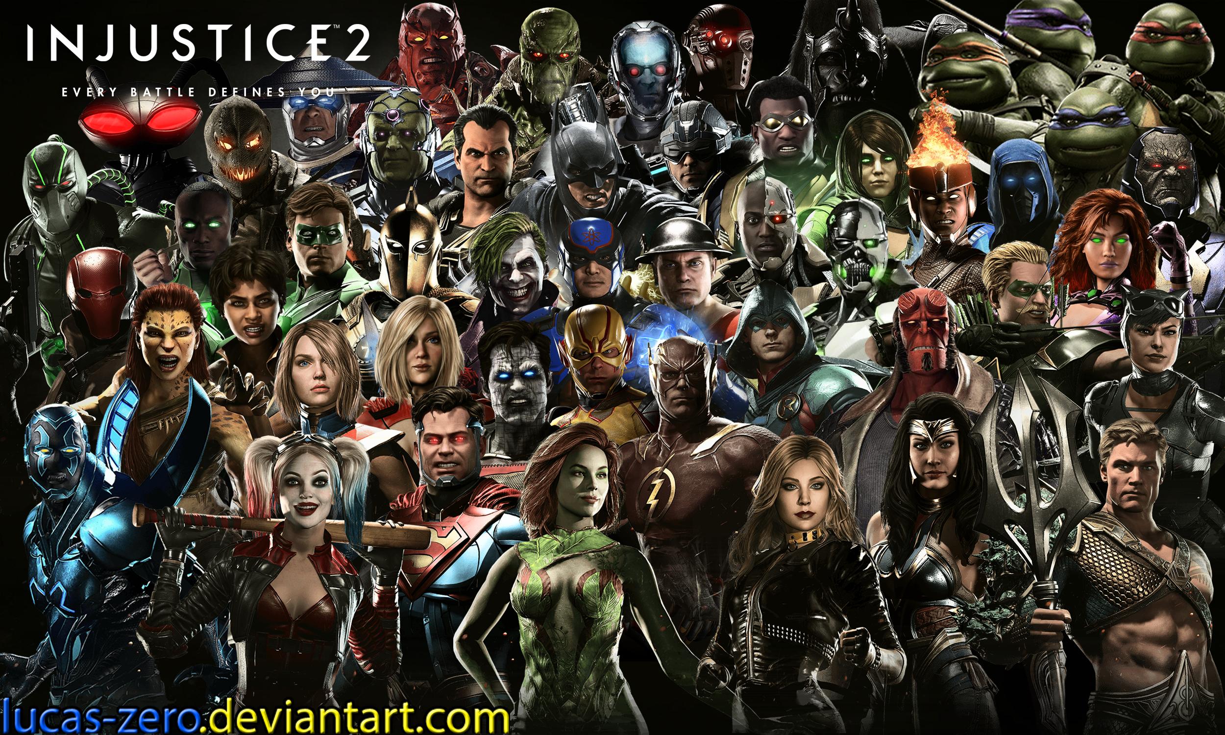Injustice 2 Wallpaper By Lucas Zero On Deviantart
