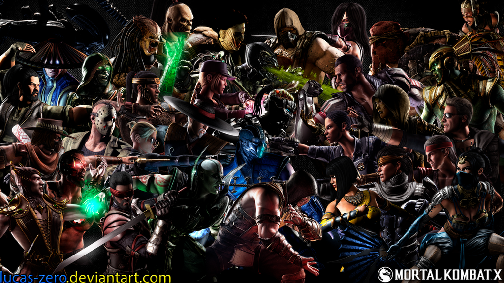 Mortal Kombat Characters With  Letters