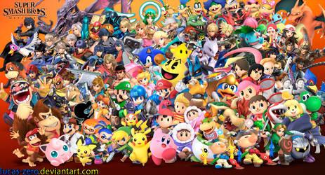 Super Smash Bros Ultimate Wallpaper by Lucas-Zero